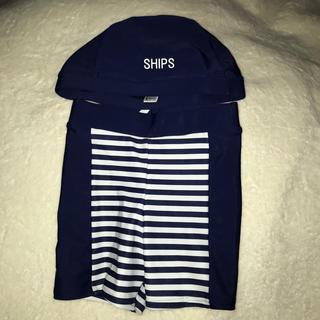 シップス(SHIPS)の ships 110㎝ 男の子水着セット(水着)