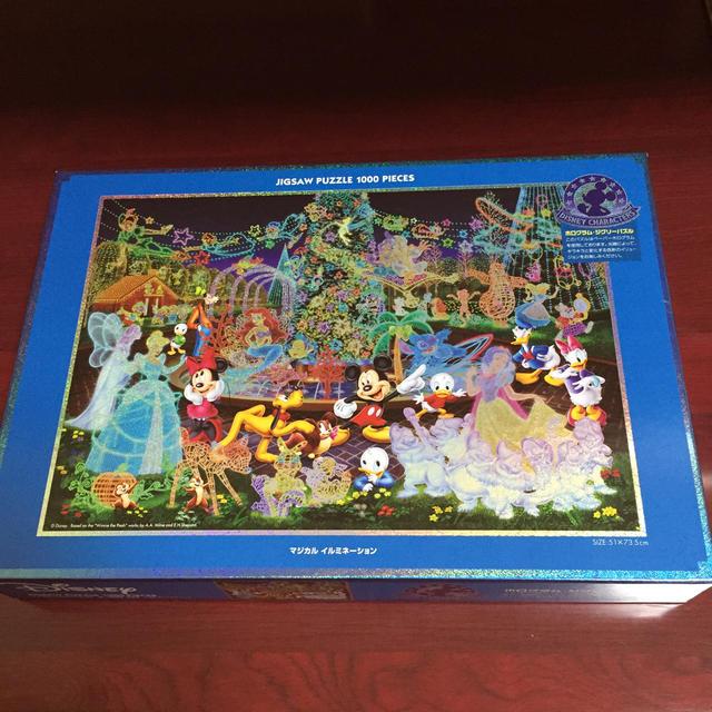 Disney(ディズニー)のディズニー ジグソーパズル エンタメ/ホビーのおもちゃ/ぬいぐるみ(キャラクターグッズ)の商品写真