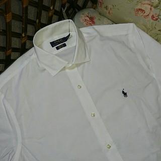 ラルフローレン(Ralph Lauren)の新品☆ラルフローレン シャツ 白 サイズ16 40-41(シャツ)