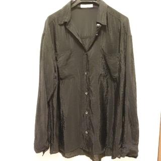 フリークスストア(FREAK'S STORE)のブラック シャツ(シャツ/ブラウス(長袖/七分))