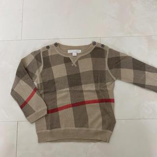 BURBERRY - バーバリー セーター 2y 92cm 美品
