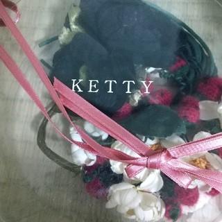 ケティ(ketty)のkettyコサージュ2点(ブローチ/コサージュ)