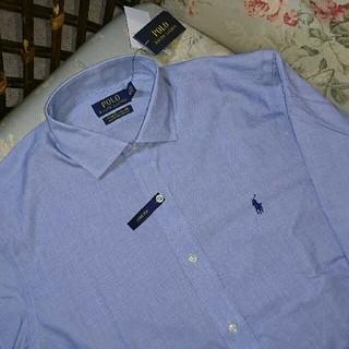 ラルフローレン(Ralph Lauren)の新品☆ラルフローレン シャツ 水色 16 40-41(シャツ)