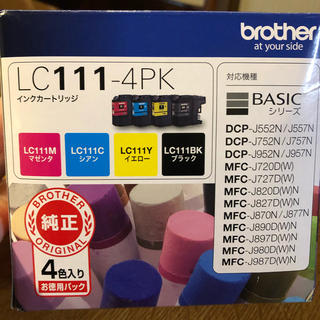 brother - 新品未使用brother 純正インク LC111-4PK