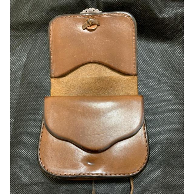 goro's(ゴローズ)のgoros ゴローズ 角小銭入れこげ茶 カスタム メンズのファッション小物(コインケース/小銭入れ)の商品写真