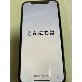 アイフォーン(iPhone)の新品未使用 SIMフリー iPhone X 64GB シルバー 残債無し(スマートフォン本体)