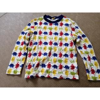 ムージョンジョン(mou jon jon)の新品未使用 ムージョンジョン 長袖ロンT 120センチ(Tシャツ/カットソー)