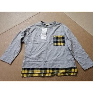 ムージョンジョン(mou jon jon)の新品未使用タグ付き ムージョンジョン 長袖ロンT 120センチ(Tシャツ/カットソー)