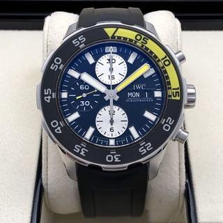 インターナショナルウォッチカンパニー(IWC)のアクアタイマー クロノグラフ シャーク腕時計(腕時計(アナログ))