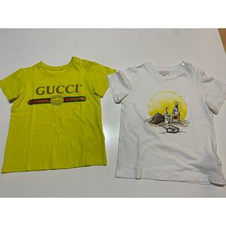 Gucci - GUCCI チルドレン グッチ キッズ tシャツ 36m  二枚セット