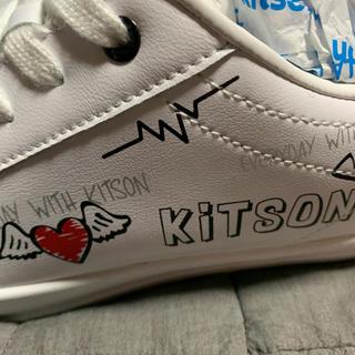 キットソン(KITSON)のkitson  白シューズ  23センチ(スニーカー)