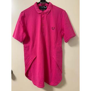 ラフシモンズ(RAF SIMONS)のラフシモンズ×フレッドペリー デザインポロシャツ(ポロシャツ)