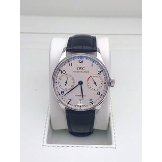 インターナショナルウォッチカンパニー(IWC)のポルトギーゼ オートマティック 7デイズ シルバー文字盤   腕時計(腕時計(アナログ))