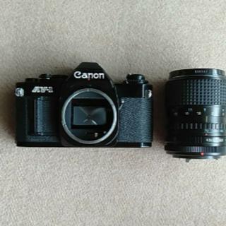 キヤノン(Canon)のCANON AV-1/BLACK CANON 動作品(フィルムカメラ)
