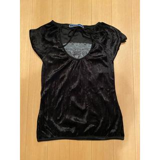 ジエンポリアム(THE EMPORIUM)の黒 トップス(Tシャツ(半袖/袖なし))