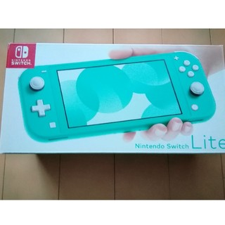 Nintendo Switch Lite ターコイズ(携帯用ゲーム機本体)