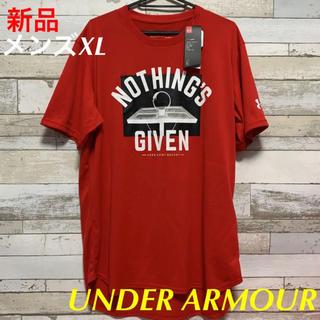 アンダーアーマー(UNDER ARMOUR)のUNDER ARMOURアンダーアーマーバスケットボールTシャツ メンズXL新品(バスケットボール)