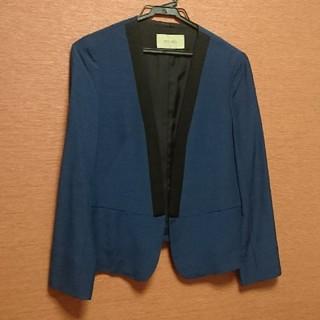DES PRES - デプレ バイカラー ジャケット セオリー ベイジ BEIGEお好きな方 紺 黒