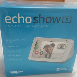 echo show 5(PC周辺機器)