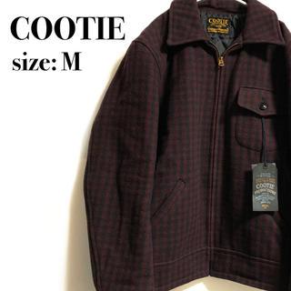 クーティー(COOTIE)の【未使用タグ付き】 COOTIE ウールジャケットチェック(ブルゾン)