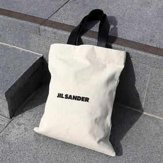 ジルサンダー(Jil Sander)の新品未使用!JIL SANDER ロゴ キャンバス トートバック(トートバッグ)