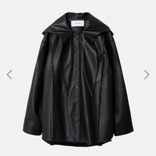 LE CIEL BLEU - 2020AW新作:IRENE(アイレネ)レザーフーディーシャツ/ジャケット