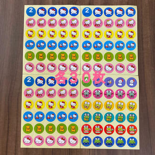 サンリオ(サンリオ)の【希少】サンリオ♡ごほうびシール356枚(知育玩具)