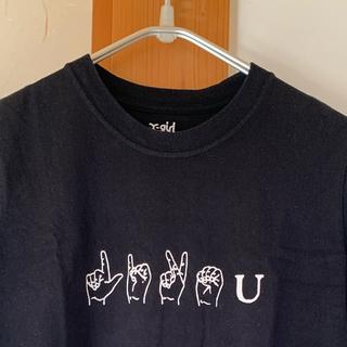 エックスガール(X-girl)のX-girl 半袖Tシャツ LIKE YOU 黒 エックスガール(Tシャツ(半袖/袖なし))