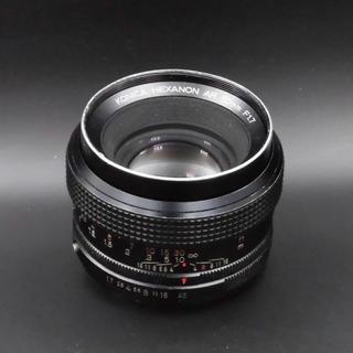 コニカミノルタ(KONICA MINOLTA)のKONICA HEXANON AR 50mm F1.7 ARマウント(レンズ(単焦点))