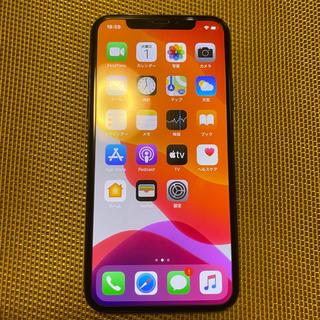アイフォーン(iPhone)のiPhone X 256gb SIMフリー スペースグレー(スマートフォン本体)