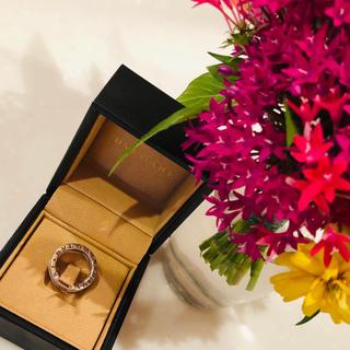BVLGARI - ブルガリゼロワンホワイトゴールドダイヤ詰めリング