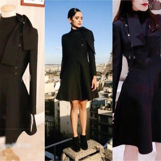 レッドヴァレンティノ(RED VALENTINO)の秋物SALE‼️韓国ファッション インポートAライン ワンピース ドレス(ひざ丈ワンピース)