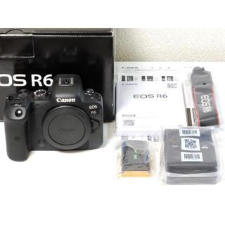 Canon - Canon EOS R6 ボディ 新品同様 保証書