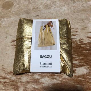 ビームス(BEAMS)のBAGGU Standard バグー スタンダードゴールド 完売品ビームス   (エコバッグ)
