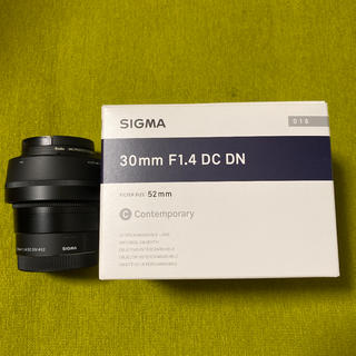 SIGMA - SONY Eマウント SIGMA 30mm F1.4 DC DN