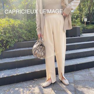 カプリシューレマージュ(CAPRICIEUX LE'MAGE)の新品❁カプリシューレマージュ  フロントスリットパンツ(カジュアルパンツ)