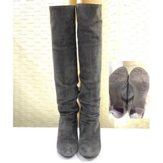 ギンザカネマツ(GINZA Kanematsu)の美品☆ギンザカネマツ GINZA Kanematsu ロングブーツ 23 靴(ブーツ)