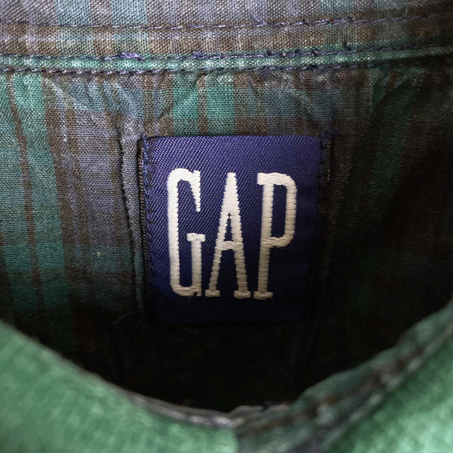 GAP(ギャップ)の【オススメ‼︎】OLD GAP◎90s クレイジー 襟付き スウェット メンズのトップス(スウェット)の商品写真