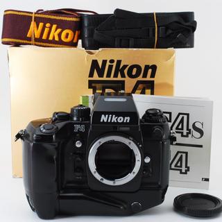 Nikon - NIKON F4S ボディ + MB-21 【元箱付】 #2916