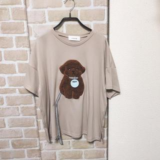 rivet & surge - rivet & surge 子犬パッチ Tシャツ