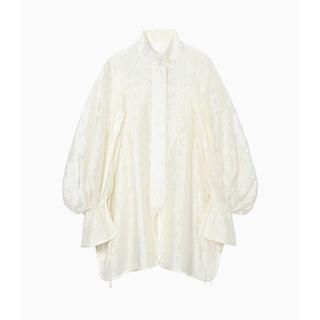 マメ(mame)の【新品】mame Floral Cut Jacquard Shirt  ブラウス(シャツ/ブラウス(長袖/七分))