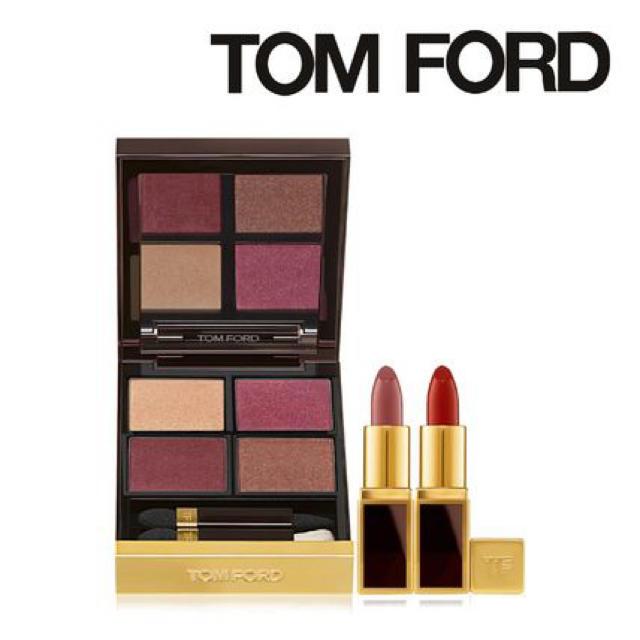 TOM FORD(トムフォード)のトムフォード アイカラークォード&ミニリップカラーセット コスメ/美容のベースメイク/化粧品(アイシャドウ)の商品写真