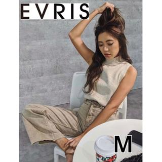 EVRIS - EVRIS SIMPLE WIDEデニムパンツ 【新品】