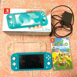Nintendo Switch - Switch Lite ターコイズ あつまれどうぶつの森セット