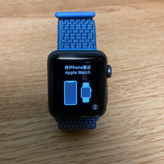 Apple Watch - apple watch series 3 NIKEモデル 38mm
