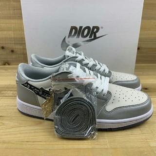 ディオール(Dior)のDior x Air Jordan 1 Low 24.5cm(スニーカー)