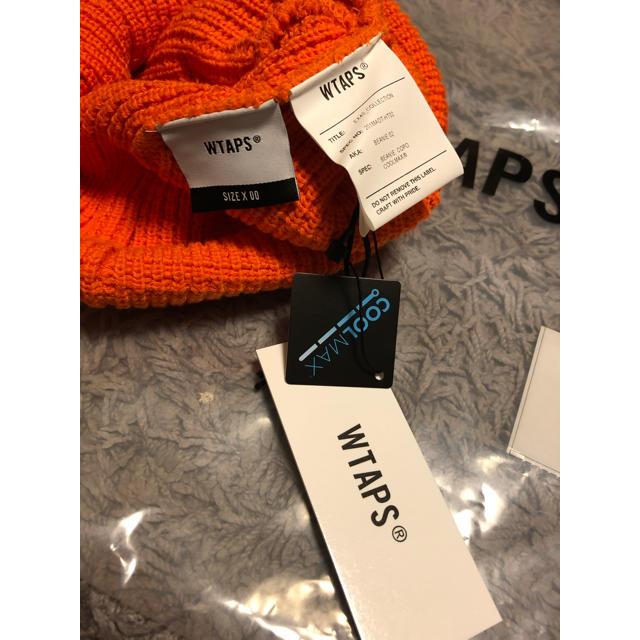 W)taps(ダブルタップス)の wtaps BEANIE 02★オレンジ supreme メンズの帽子(ニット帽/ビーニー)の商品写真