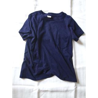 ヤエカ(YAECA)のYAECA CREW NECK T ダークネイビー Sサイズ ポケットTシャツ(Tシャツ(半袖/袖なし))
