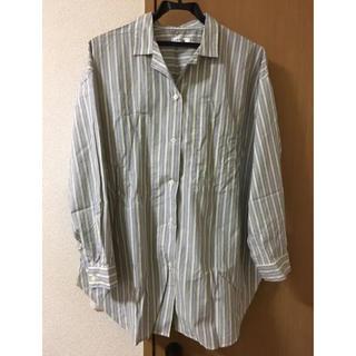 レプシィム(LEPSIM)のストライプシャツ 美品(シャツ/ブラウス(長袖/七分))