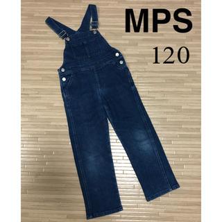 エムピーエス(MPS)のMPS オーバーオール サロペット デニム 120 ストレッチ 女の子 キッズ(その他)